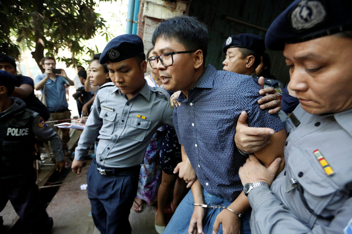 Judge rejects motion to dismiss case of two Reuters reporters on trial in Myanmar over Rohingya 'massacre' reporting