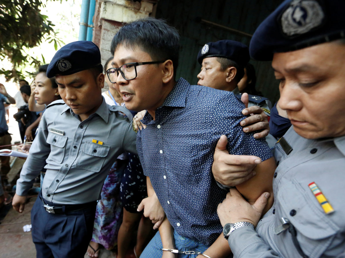 Reuters launches appeal against seven-year sentence handed to Myanmar journalists as one writes children's book behind bars