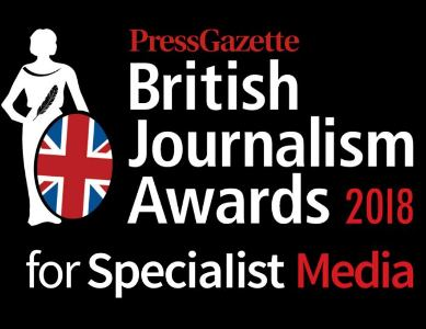 British Journalism Awards for Specialist Media now open for entries at early bird rate
