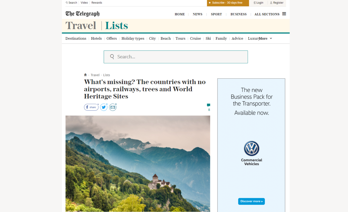 Telegraph sorry over travel article that repeated 'anti-Semitic trope' ruled inaccurate by IPSO