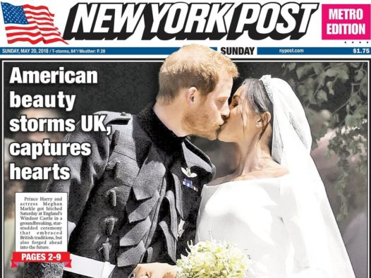 Royal Wedding front pages and souvenir editions from around the world