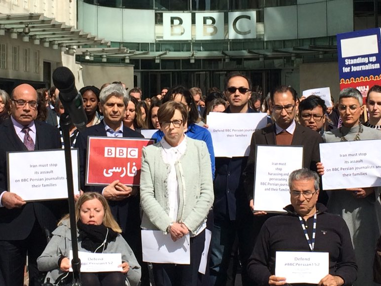 BBC News journalists gather to remember killed Afghan reporter on World Press Freedom Day