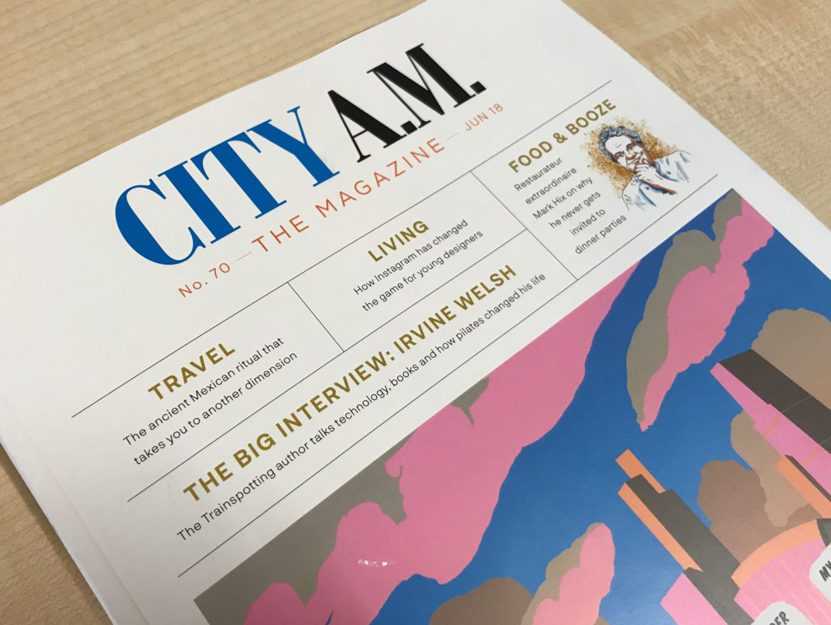 City AM launches new bi-monthly luxury magazine replacing its existing lifestyle, property and money titles