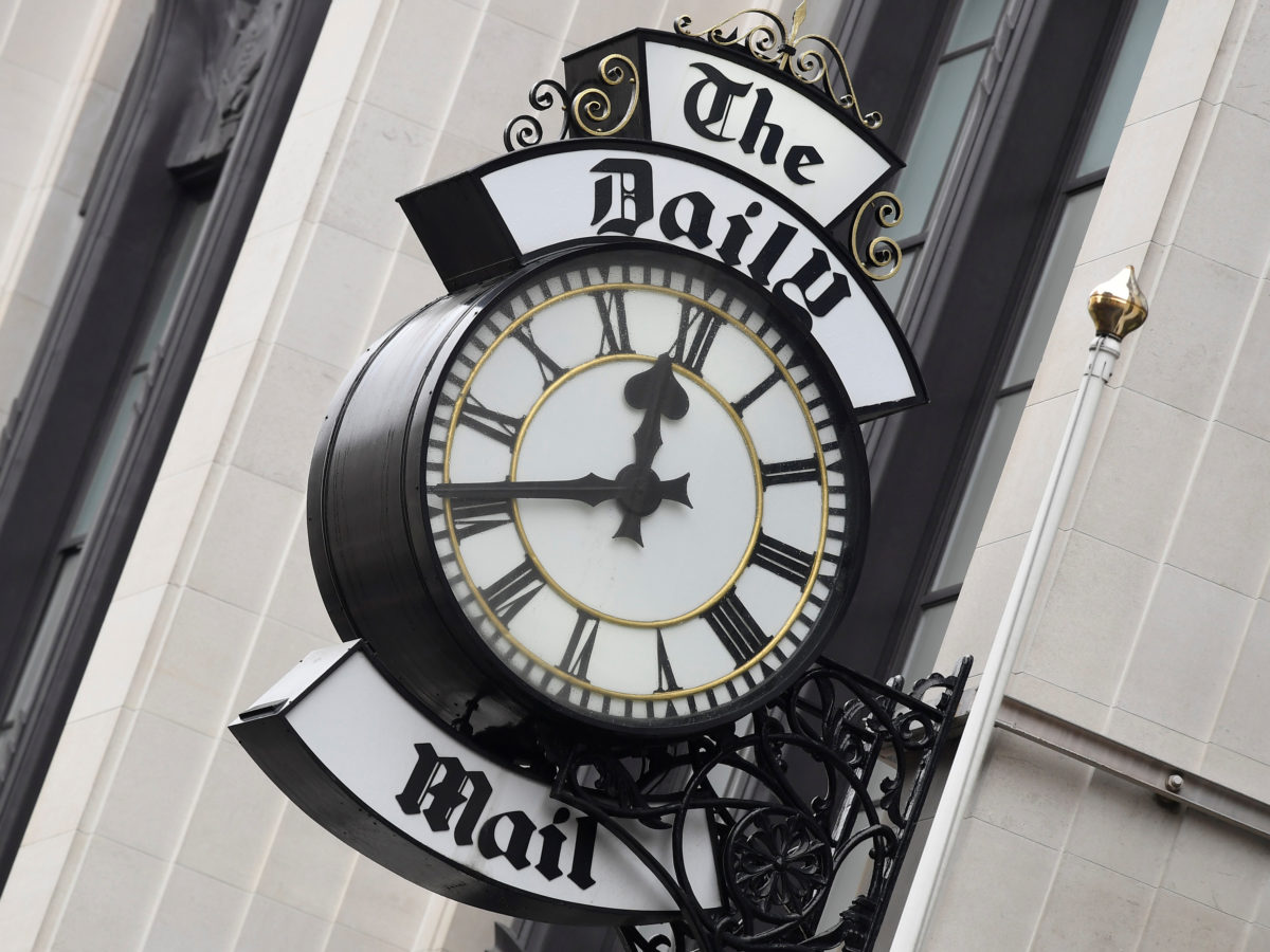 Daily Mail publisher DMG Media sees revenue fall by £15m in first half of year, new financial results show