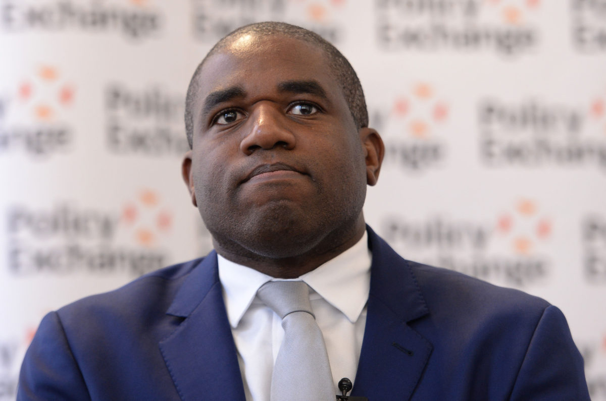 Labour MP David Lammy accuses the BBC of 'paying lip service' to diversity