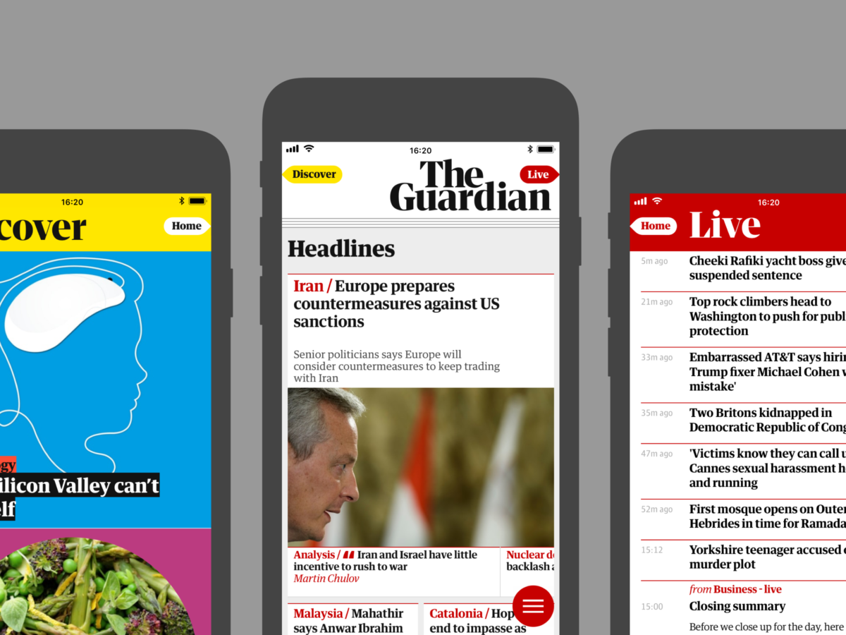 Guardian adds new paid-for premium features to app as 'reward' for 'avid' readers but content remains free