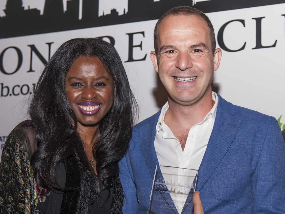 Money Saving Expert founder Martin Lewis tells Facebook 'screw you' over fake ads dispute as he picks up business journalist award