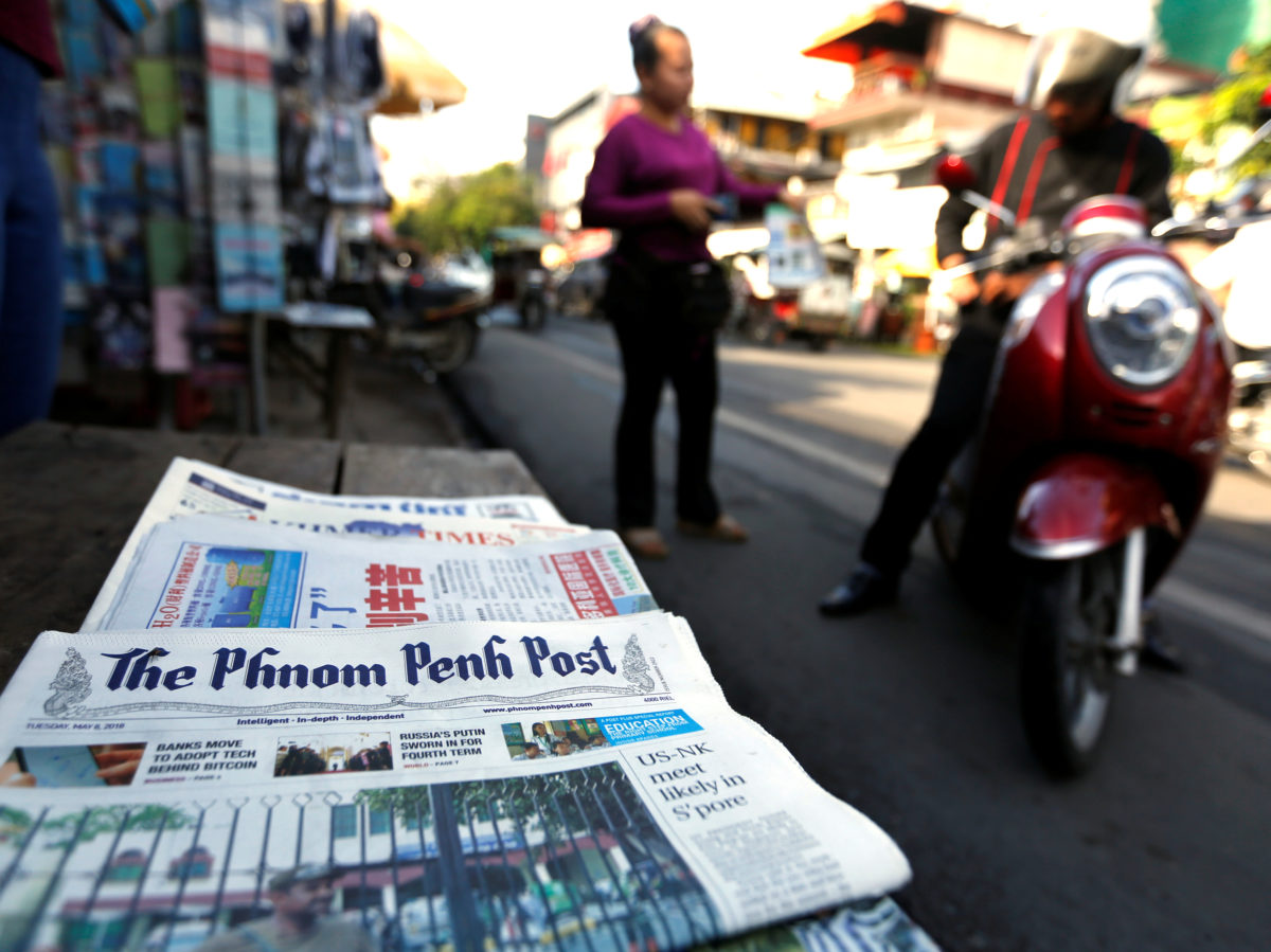 Former Phnom Penh Post journalist describes state of press freedom in Cambodia as 'dire'