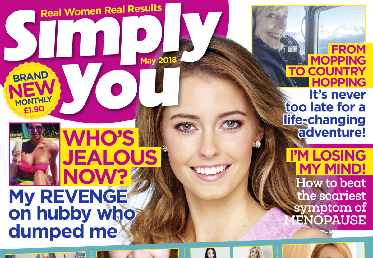 Bauer Media launches new monthly 'true-life' magazine Simply You aimed at women over 40
