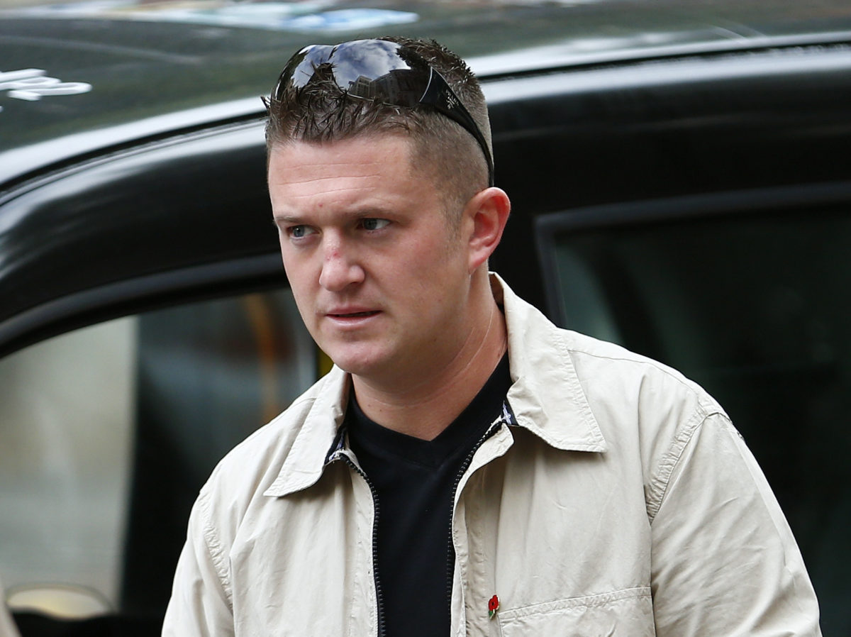 Facebook removes Tommy Robinson's page and Instagram profile over alleged 'hate speech'
