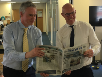 PM speaks up for free press as industry rep warns Data Protection Bill cost sanctions would 'cripple' local and national newspapers