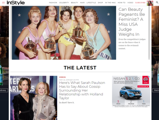 Time Inc UK shuts down InStyle UK website less than 18 months after closure of print magazine