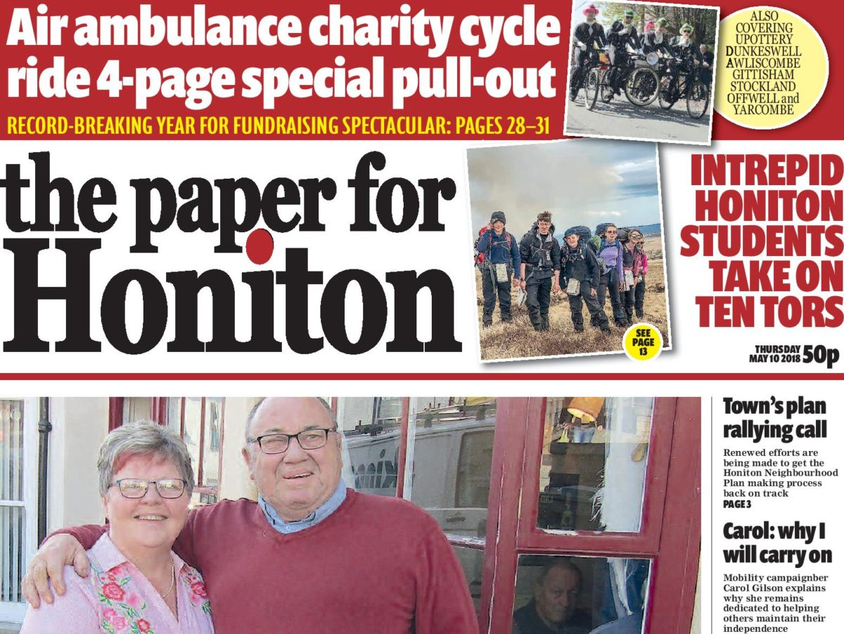 Former regional newspaper editor launches paid-for title with hopes of providing local news to Devon town