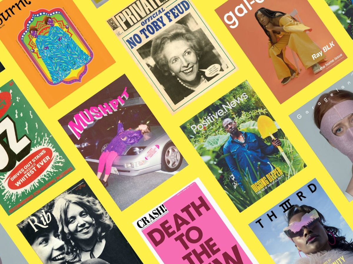 Somerset House exhibition celebrates 'power of print' by tracing history and future of independent British magazines