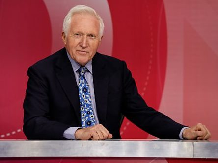 'Not goodbye, but goodnight' as David Dimbleby signs off after 25 years hosting Question Time with nod to staff