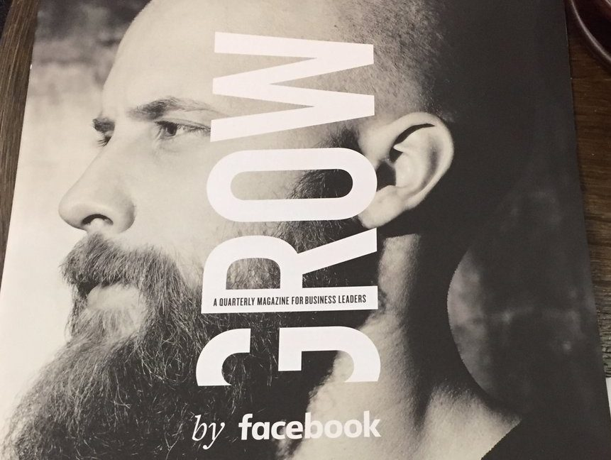 Facebook moves into print with UK quarterly title aimed at business leaders but claims it is not a 'magazine'