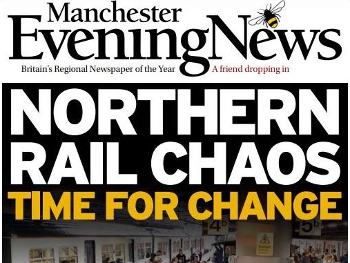 North's newspapers unite in historic call for action to fix 'broken' rail services