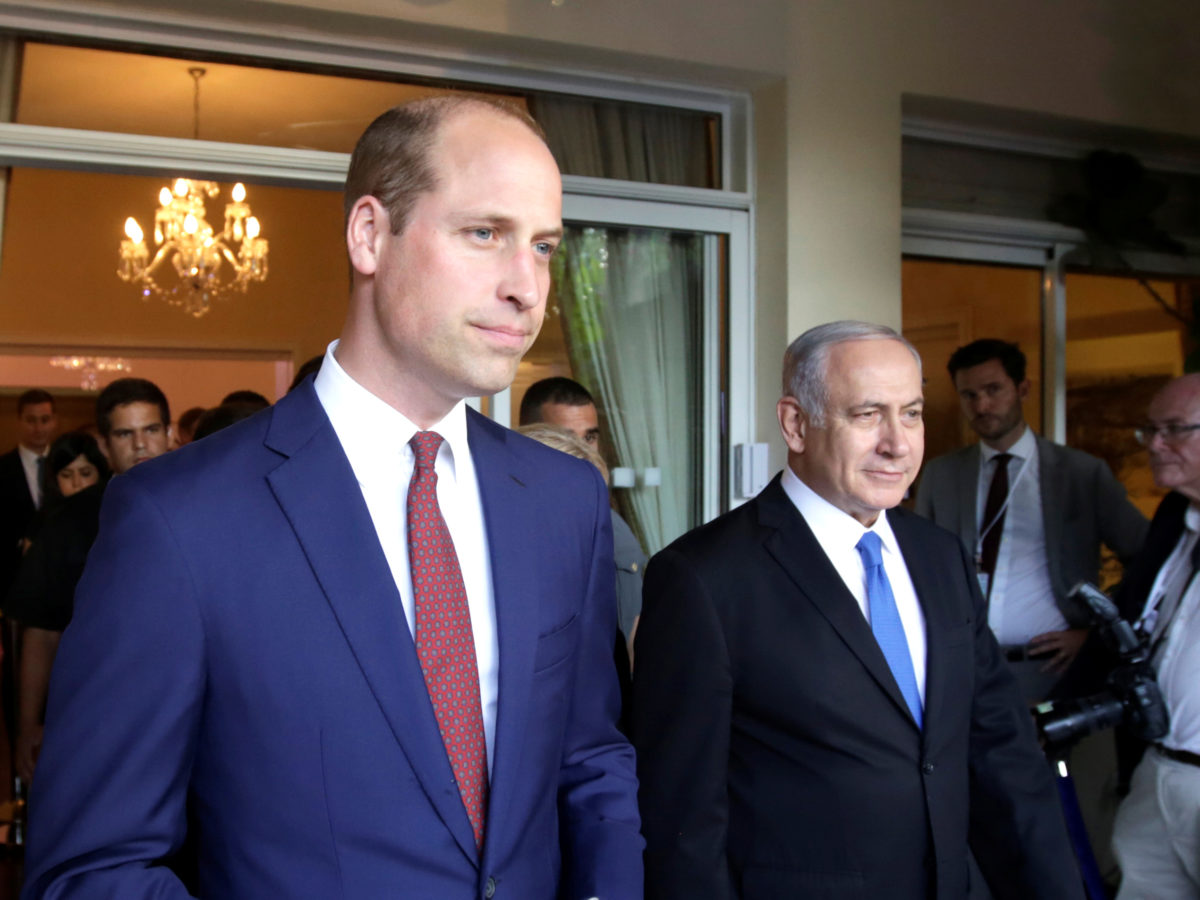 Security barred accredited AP journalist from Prince William's summit with Israeli PM and asked colleagues if he was 'Muslim'