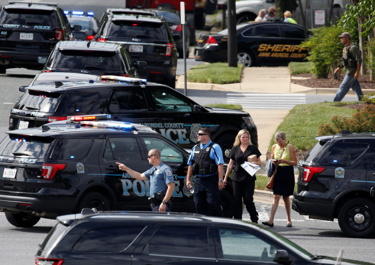 Five killed in 'targeted' shooting at Capital Gazette newspaper in US