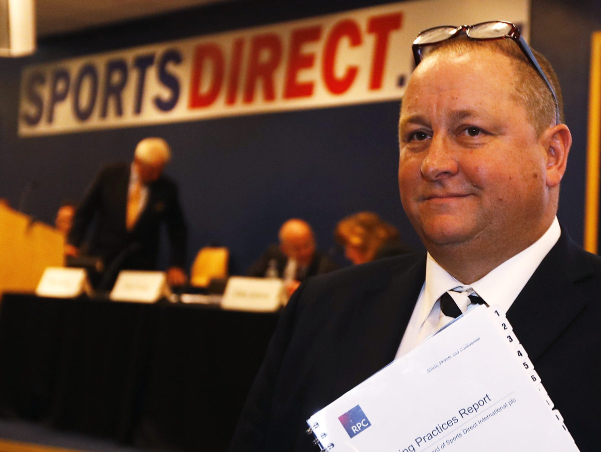 Sports Direct decision to block journalists from AGM 'not a good look'
