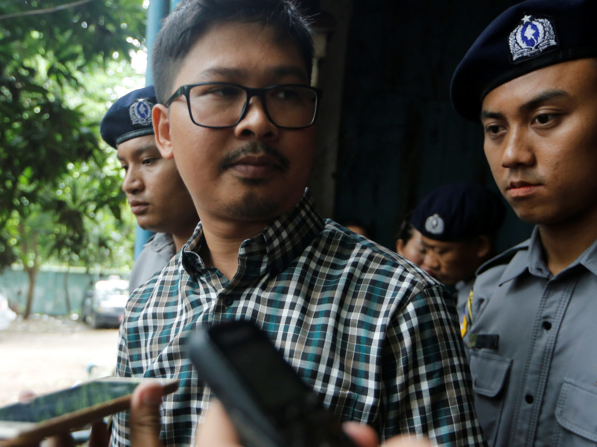 Reuters editor-in-chief remains 'hopeful' of journalists' release following six-month imprisonment in Myanmar