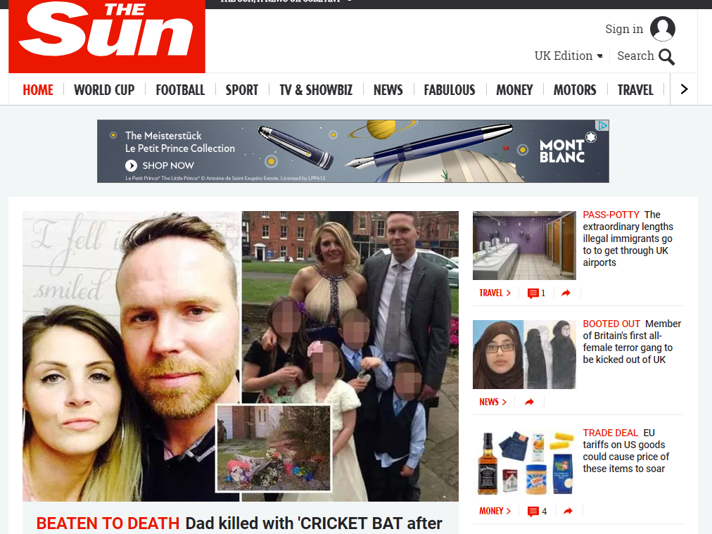 The Sun now 'bigger than Twitter' online as it remains top UK commercial newsbrand for second month, Comscore data shows