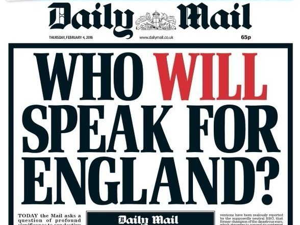 Some of Paul Dacre's most memorable Daily Mail front pages