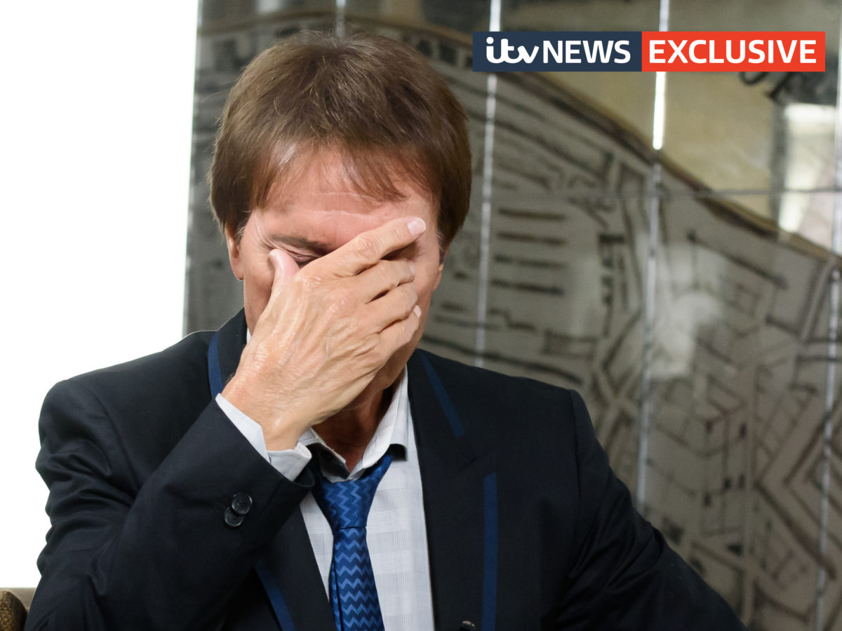 Sir Cliff Richard tells ITV News: 'If heads roll at the BBC, maybe it's because it's deserved'