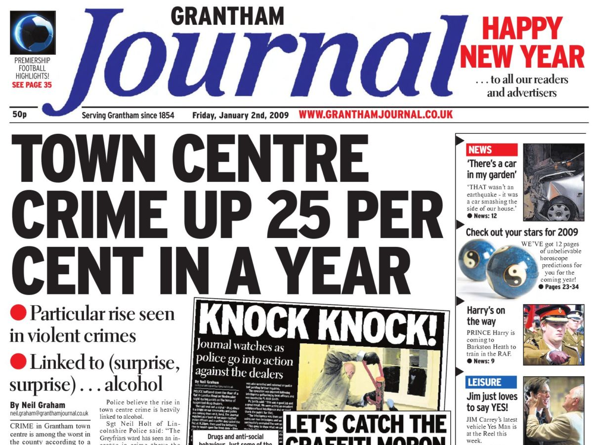 Grantham Journal news team move back to street where weekly title first published in 1854