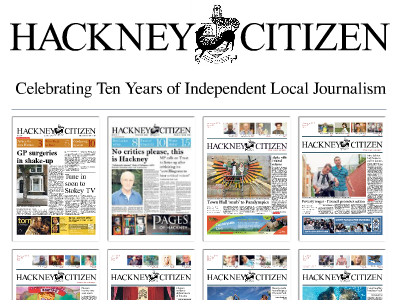 Hackney Citizen celebrates ten years in print despite never turning profit as editor says free paper started out as 'funny little experiment'