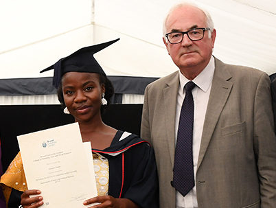 First ever George Orwell Society Award goes to Brunel University graduate for 'hard-hitting' stories