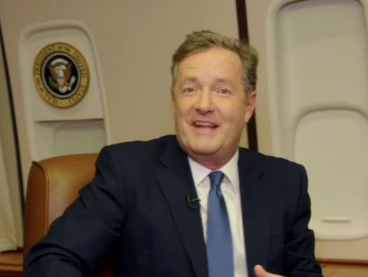 Piers Morgan defends against criticism his second interview with Trump was 'cosy chat'