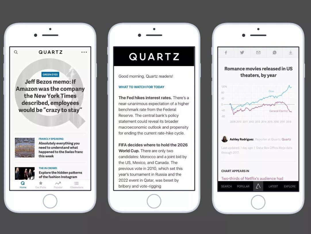 Japanese media firm set to buy US business website Quartz for up to $110m