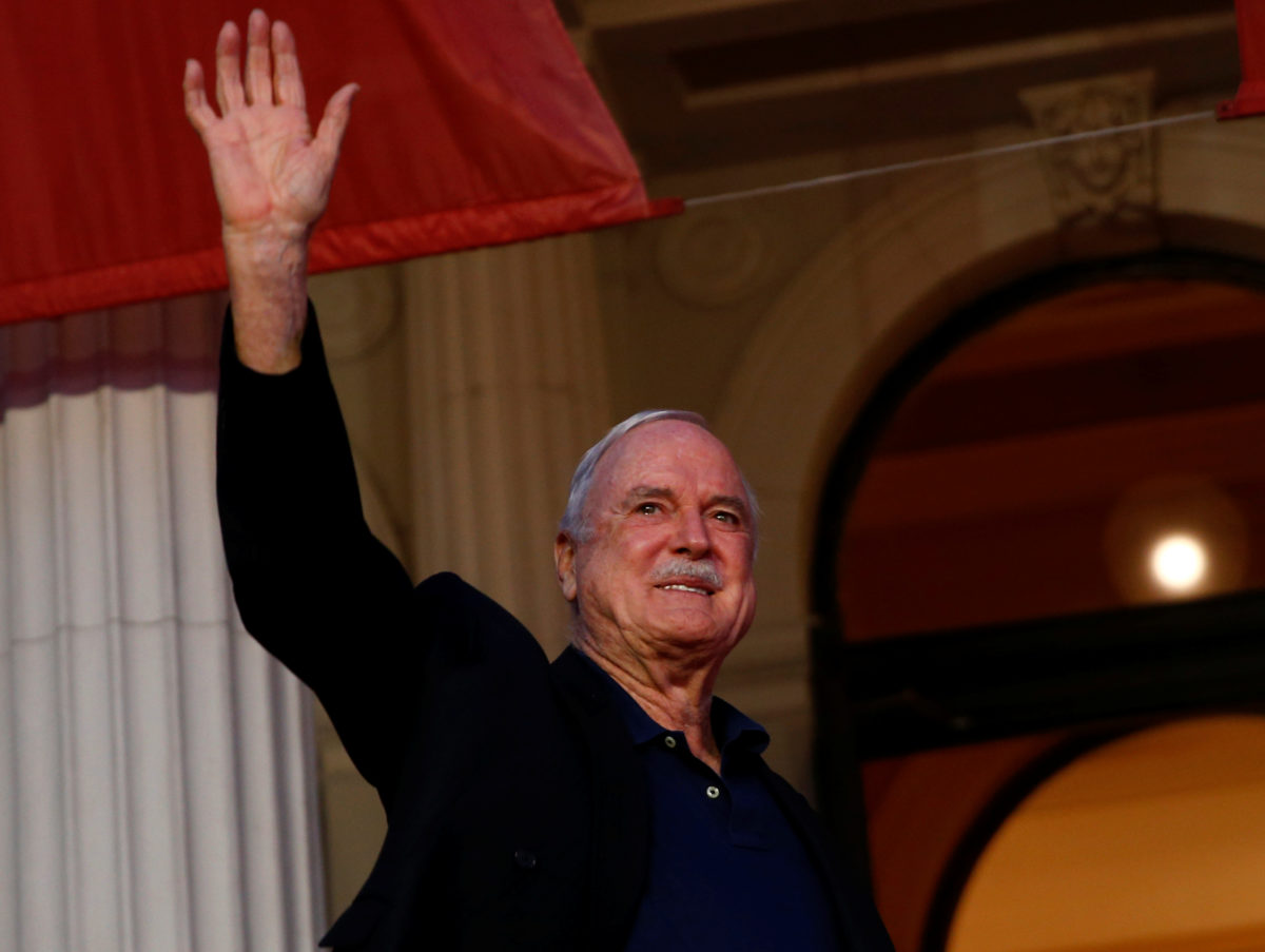 Hacked Off supporter John Cleese points finger at 'lying' and 'right-wing' UK press in decision to leave Britain for the Caribbean