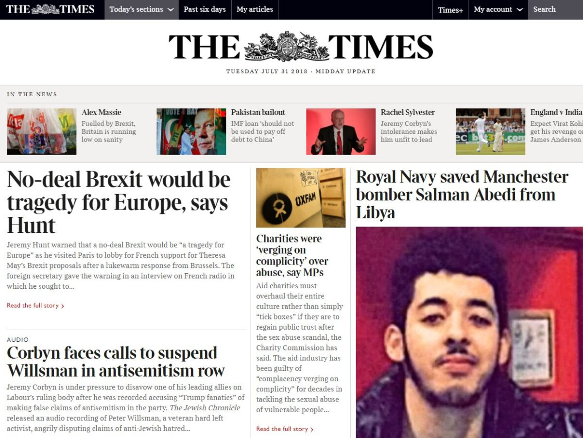 'People thought we were crazy' to introduce paywall says Times head of digital as he points to 'smart' subscriptions for future of paid content