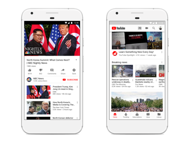 Youtube pledges new features to promote quality journalism and build 'sustainable ecosystem' for news groups