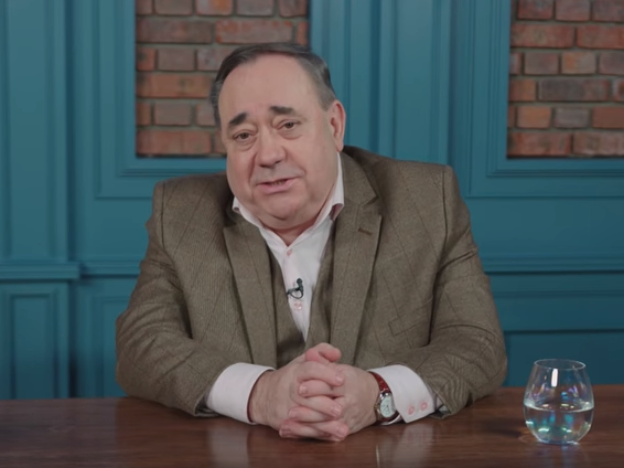 Alex Salmond hits out at BBC after pro-Scottish independence videos taken off Youtube over use of news excerpts