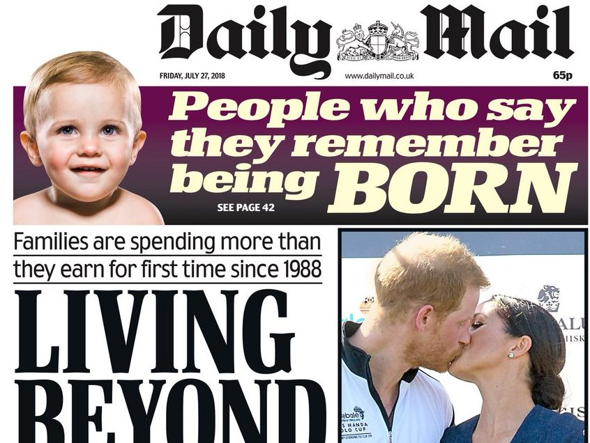 Daily Mail runs front page IPSO ruling on inaccuracies in Iraq compensation claim report as staff told making similar errors again would 'put careers at risk'