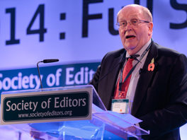 BBC's Tony Hall to deliver first annual lecture named in honour of former Society of Editors head Bob Satchwell