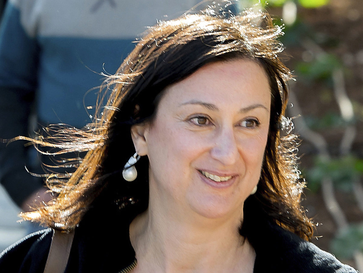 Maltese journalist says 'a lot more can be done' by UK and EU countries over killing of Daphne Caruana Galizia