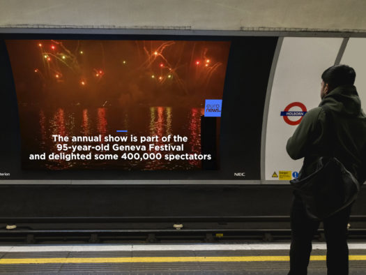 Live news to broadcast on 60 screens across 15 London Underground stations thanks to new deal with TfL