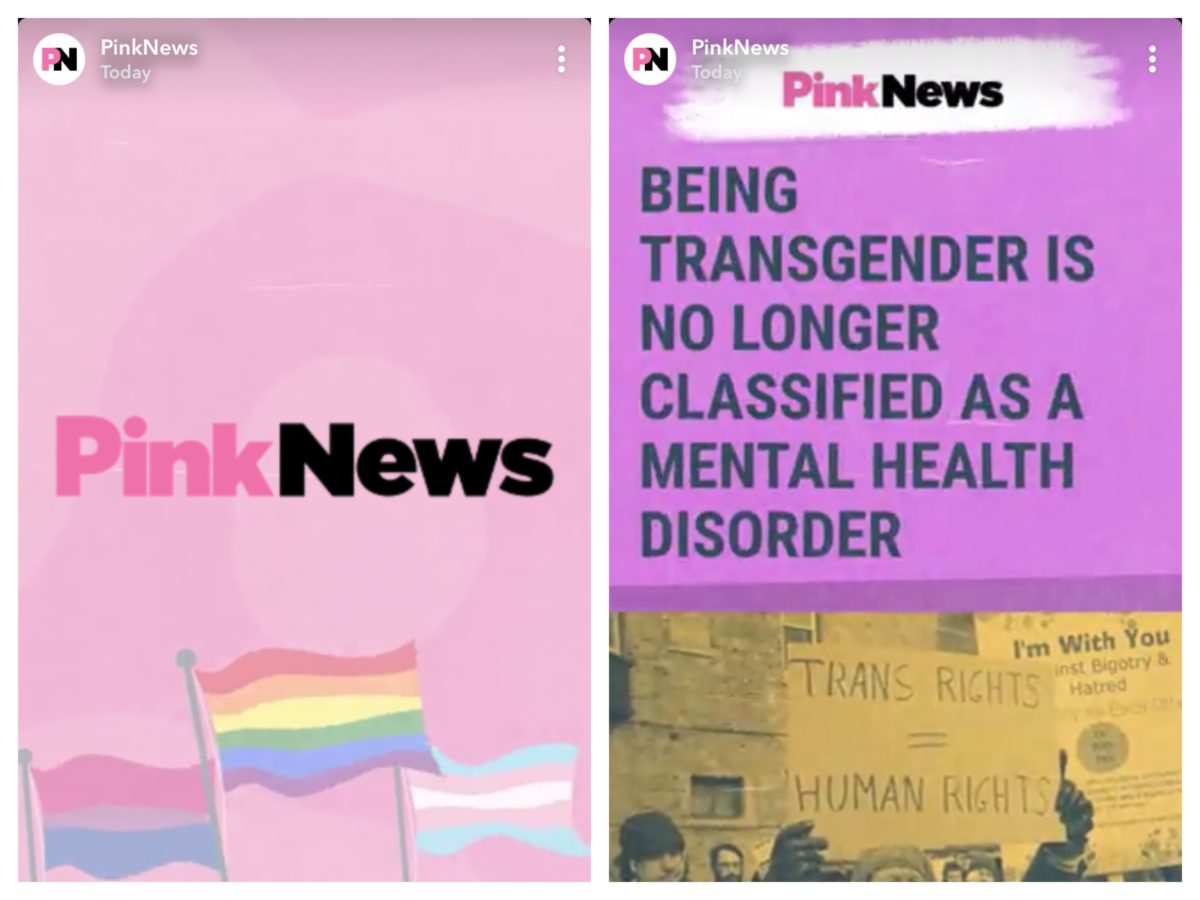 'Social first' Pink News wants to 'make waves' as it becomes first LGBT publisher on Snapchat