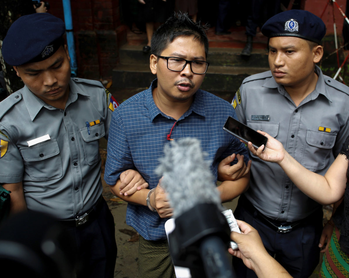 Reuters journalist on trial in Myanmar rejected police offer not to publish Rohingya massacre story in arrest negotiation, court hears