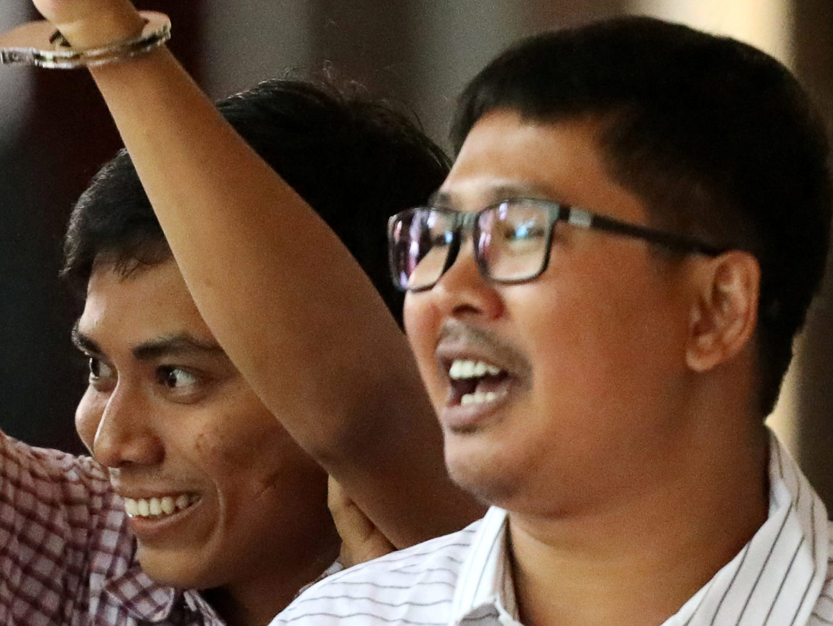 Reuters journalists jailed under Official Secrets Act given permission to appeal guilty verdict in Myanmar court