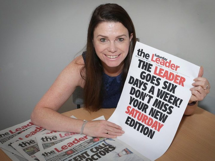 North Wales Leader goes six days a week with launch of first ever Saturday edition