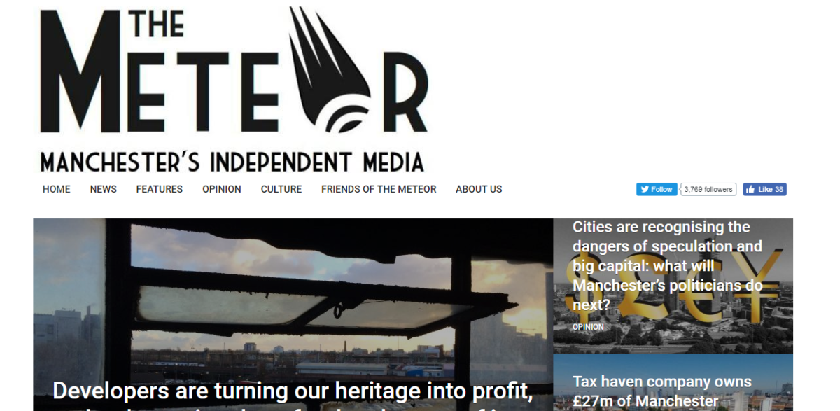 Manchester independent media project The Meteor to introduce co-op model with aim of becoming sustainable and expanding into print