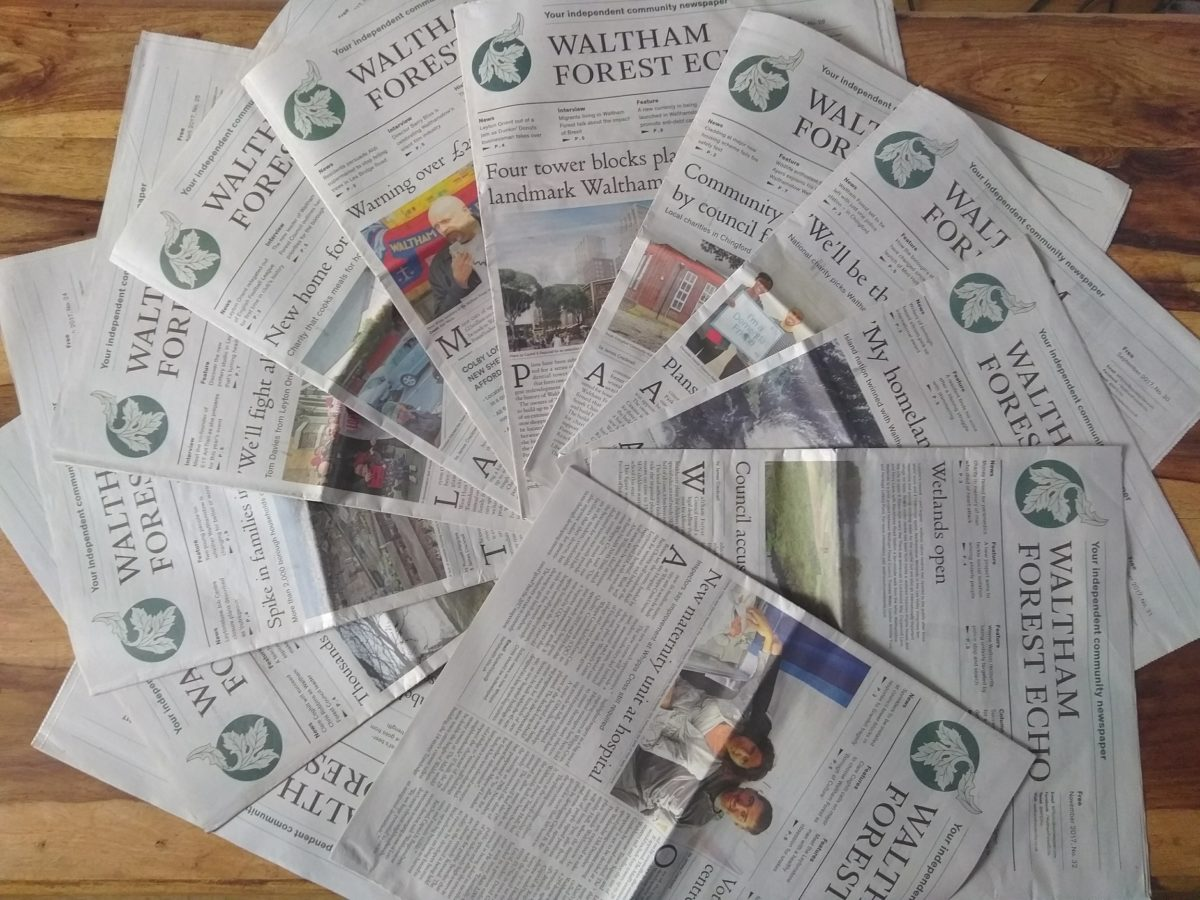 Social enterprise to launch third free community newspaper in north east London in four years