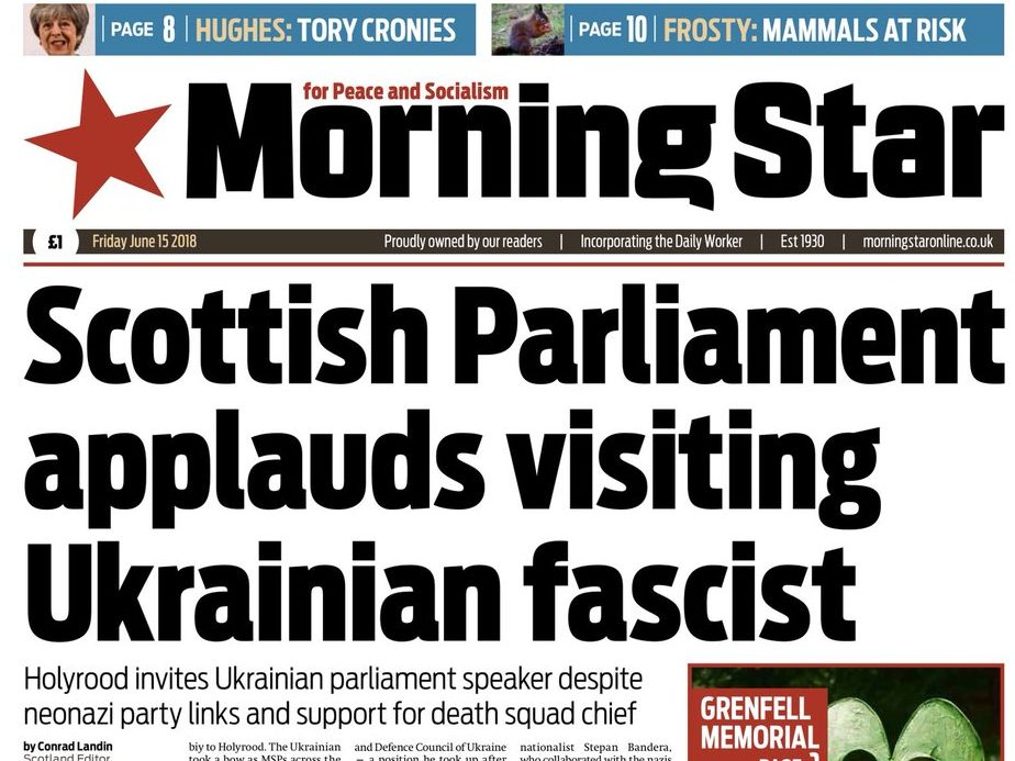 Morning Star to trial Scottish edition in bid to double circulation there following 'shift' in political landscape