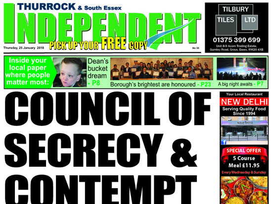 Thurrock Independent 'blacklisted' by local council after editor's 'vexatious and unreasonable' actions