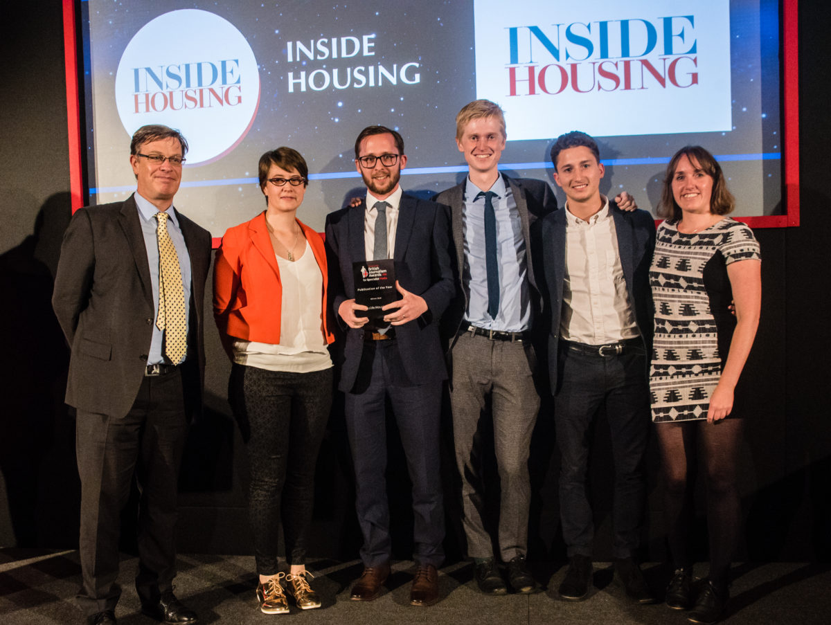 British Journalism Awards for Specialist Media 2018: Inside Housing named publication of the year + full list of winners